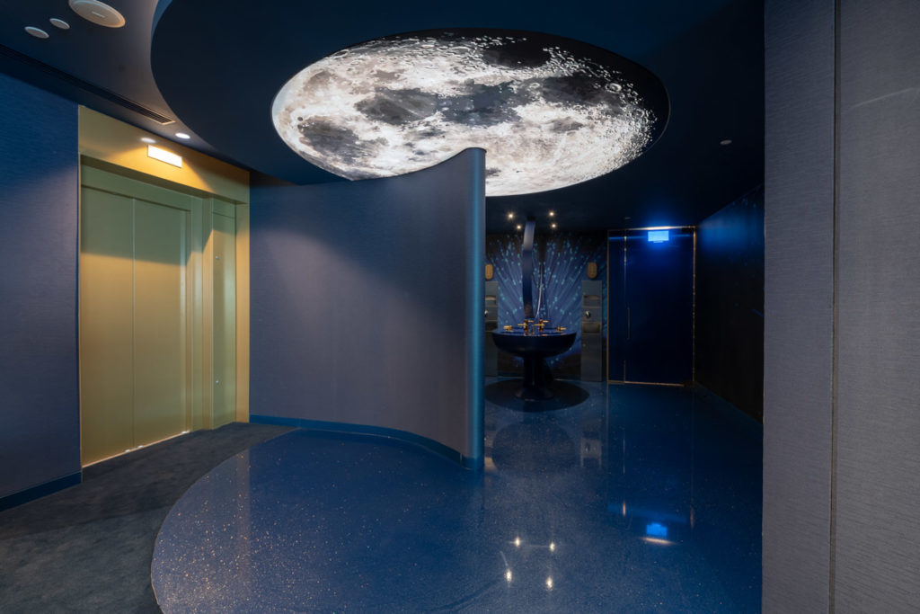 moon ceiling savoy palace