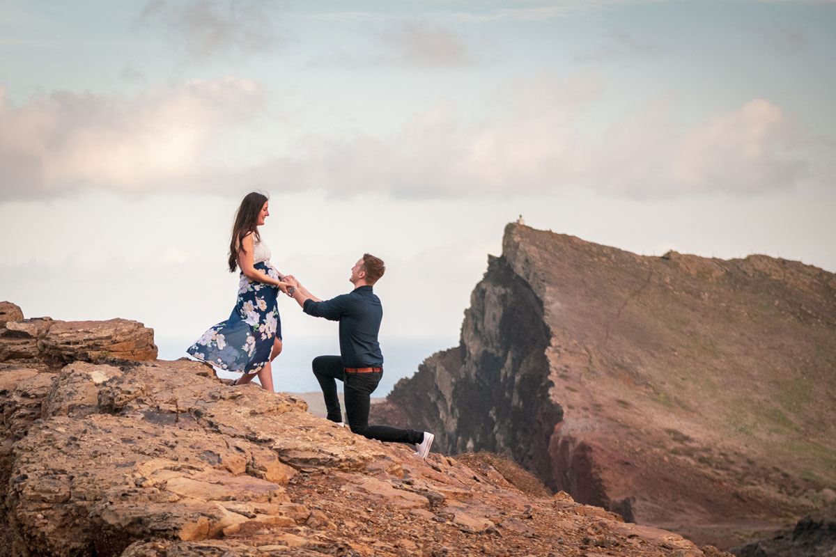 marriage proposal in Madeira